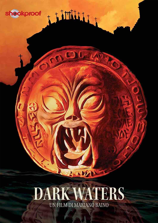 """""""Dark Waters"""" (G.B./Russia 1993), Mariano Baino. Copertina dvd Shockproof"""