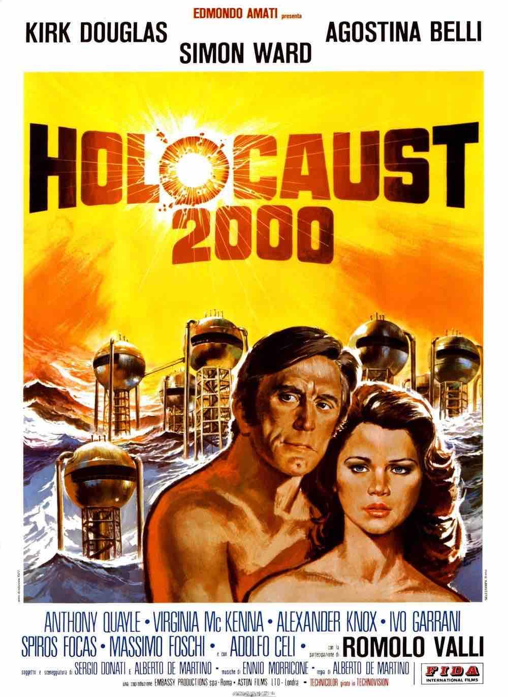 """Holocaust 2000"" Locandina originale cinematografica italiana, 1977"