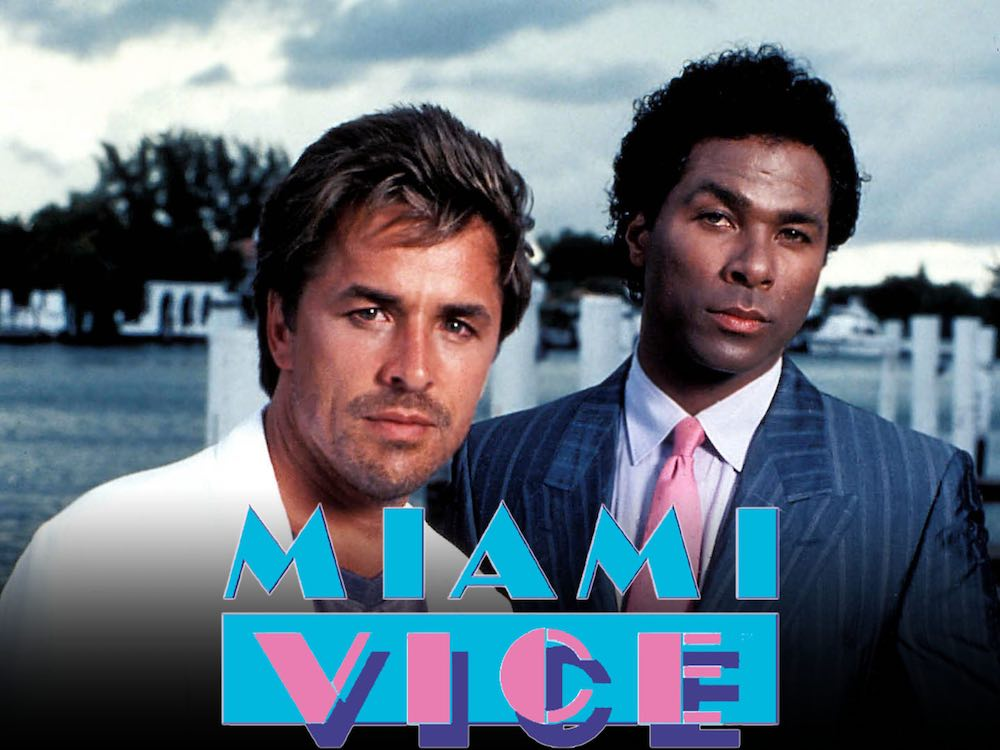 """Miami Vice"" (Brother's Keeper) (Pilota) (Usa 1984), Thomas Carter. Produttori esecutivi Michael Mann e Anthony Yerkovich"