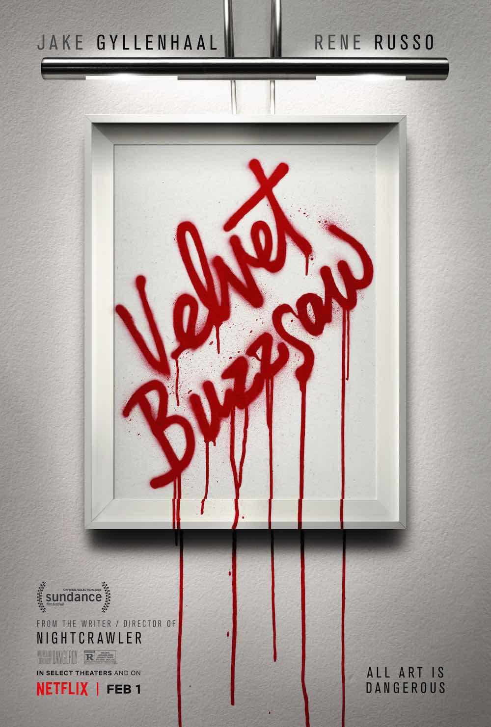 La locandina di Velvet Buzzsaw