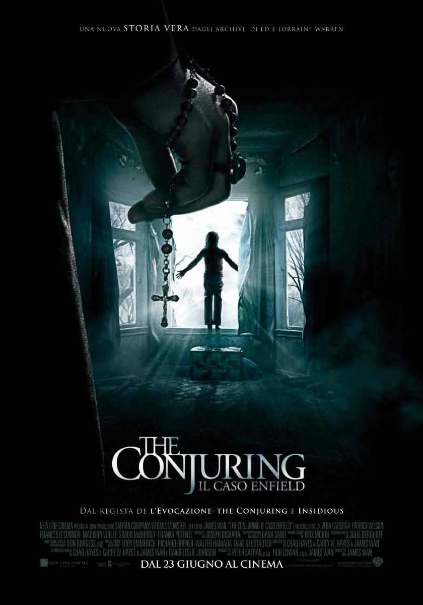 Locandina The Conjuring - Il caso Enfield
