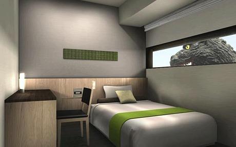 In giappone un hotel prepara le camere a tema godzilla for Camere giapponesi