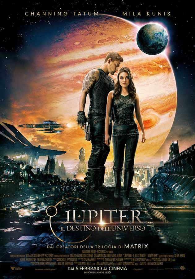 Locandina di Jupiter - Il destino dell'universo