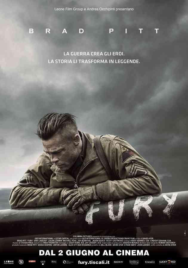Locandina di Fury