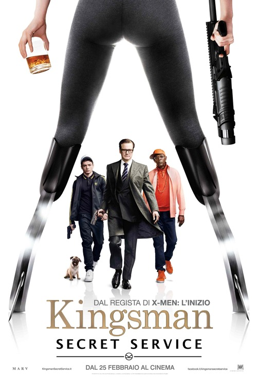 Locandina di Kingsman - Secret Service