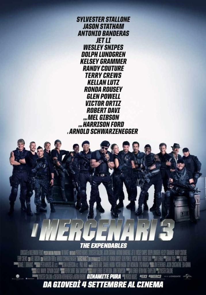 I Mercenari 3 - The Expendables Locandina