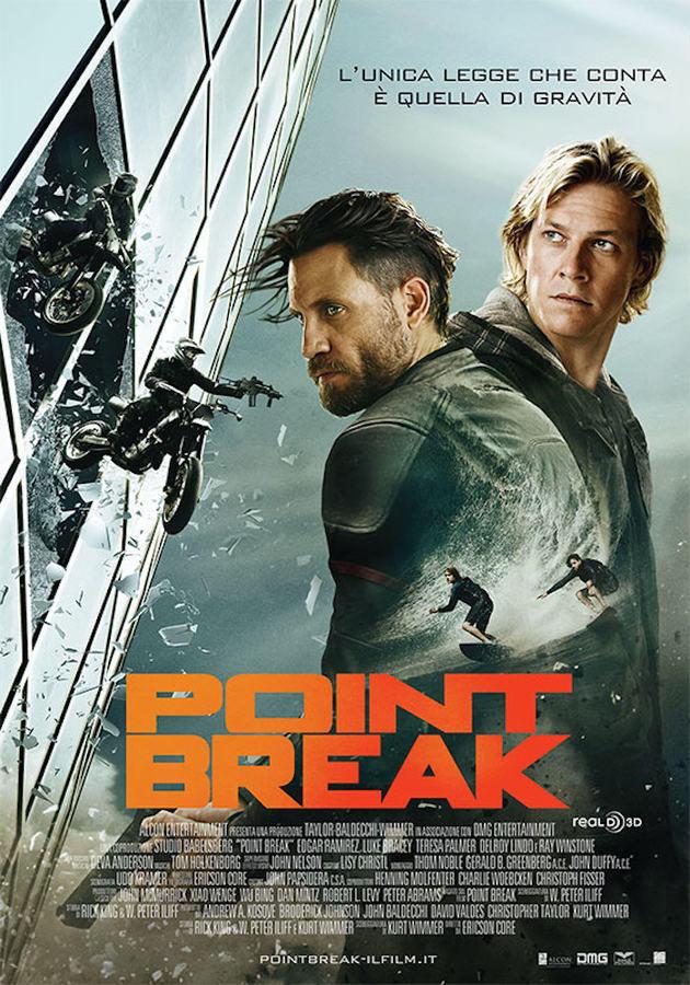 Locandina di Point Break 2016