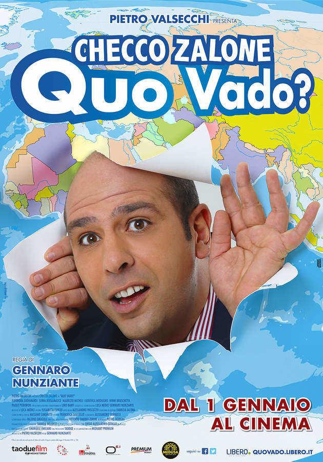 Locandina di Quo Vado? Checco Zalone