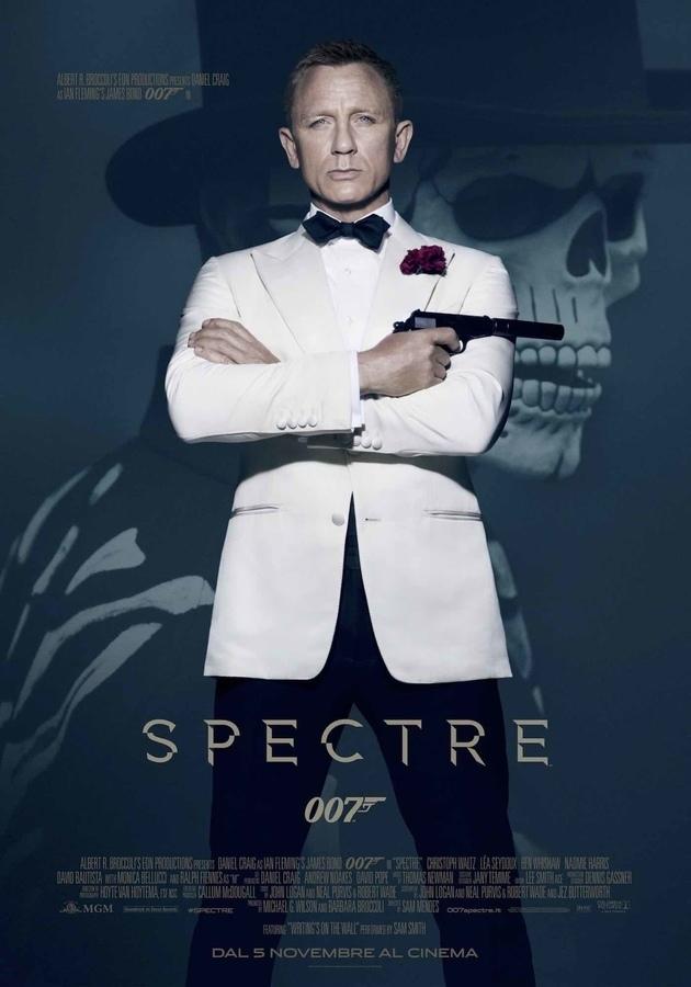 Locandina di 007 Spectre Daniel Craig