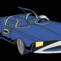 Batmobile 1973 - Superfriends