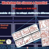Locandina Workshop Cinema e Fumetto