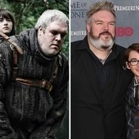 Il Trono di Spade - Kristian Nain e Isaac Hempstead - Hodor e Bran Stark
