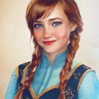 "Principessa Anna da ""Frozen"""