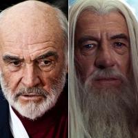 Sean Connery e Ian McKellen