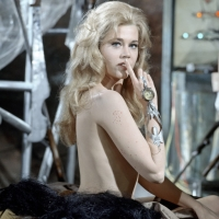 "Jane Fonda in ""Barbarella"""