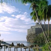 Saint Vincent, set di Pirati dei Caraibi