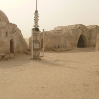 Tatooine, set di Star Wars in Tunisia