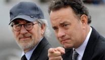 Steve Spielberg con Tom Hanks