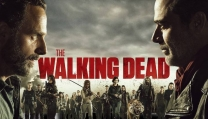 La locandina dell'ottava stagione di The Walking Dead