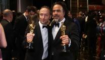 Alejandro González Iñárritu con Emmanuel Lubezki