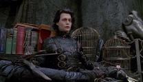 Edward mani di forbice in onda su Cine Sony