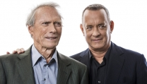 Clint Eastwood con Tom Hanks