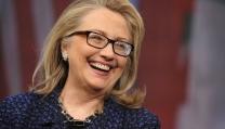 Il candidato alla Casa Bianca Hillary Clinton