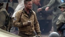 "una scena di ""Fury"", film di chiusura del London Film Festival"