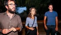 Roan Johnson con Silvia D'Amico e Alessio Vassallo