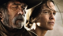 "una scena di ""The Homesman"""