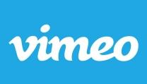 Il logo di Vimeo