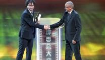 Vito Palmieri alla premiazione dello Shanghai International Film Festival