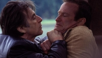 "Al Pacino e il compianto Robin Williams in ""Insomnia"""