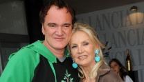 Quentin Tarantino e Barbara Bouchet