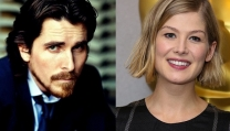 Christian Bale e Rosamund Pike