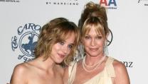Dakota Johnson con la mamma Melanie Griffith