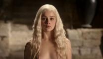 Emilia Clarke in Games of Thrones