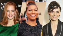 Jessica Chastain, Queen Latifah, Juliette Binoche