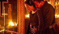 "Michael Fassbender e Marillon Cotillard in ""Macbeth"""