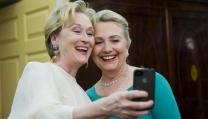 Meryl Streep e Hillary Clinton