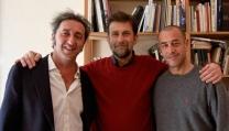 Paolo Sorrentino, Nanni Moretti e Matteo Garrone
