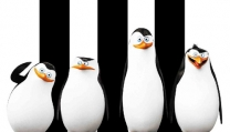 Locandina di I pinguini di Madagascar