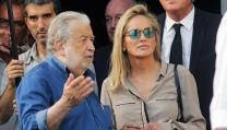 Pupi Avati con la star Sharon Stone