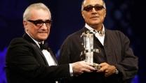 Martin Scorsese con Abbas Kiarostami