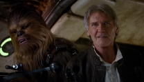 Chewbecca e Han Solo