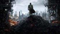 "Un frame di ""Star Trek - Into the darkness"""