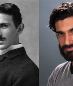 Nikola Tesla e Alessandro Parrello