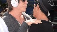 Mickey Rourke con Giuseppe Franco