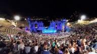 Il teatro antico a Taormina