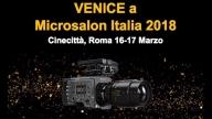 Sony CineAlta Venice a Microsalon 2018